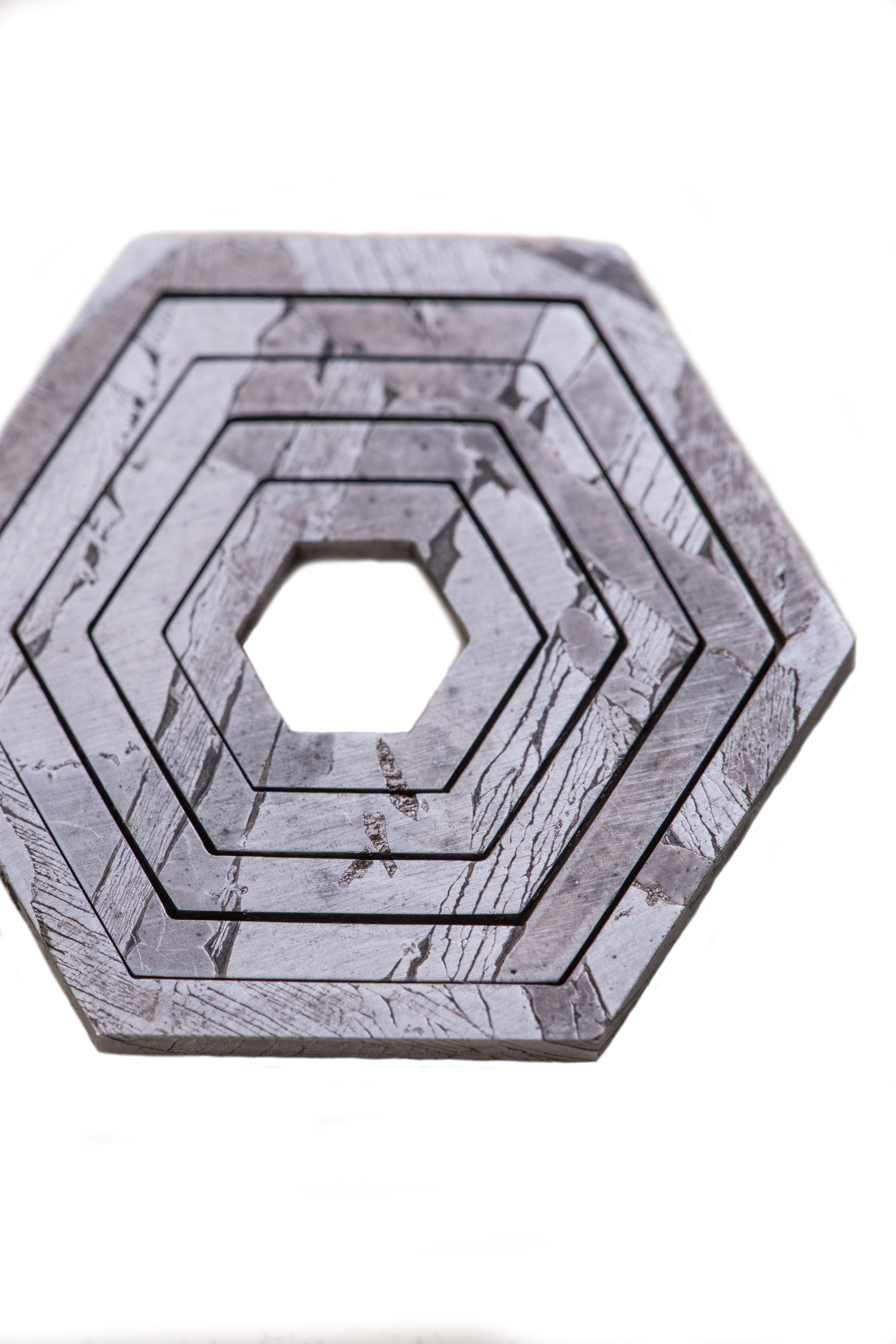 Подвеска из метеорита SNEBA Hexagon