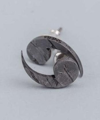 Серьги из метеорита SNEBA In yan