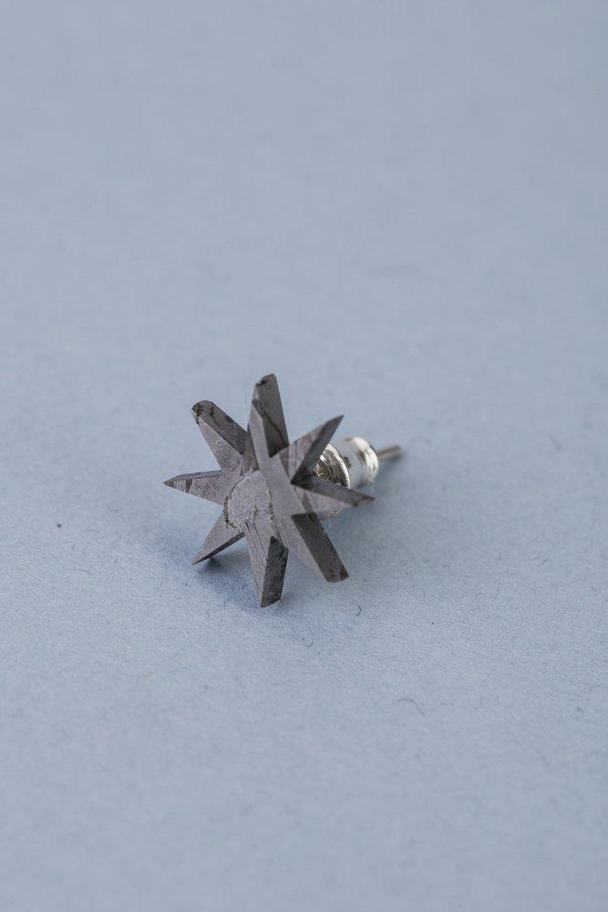 Серьга из метеорита SNEBA Star