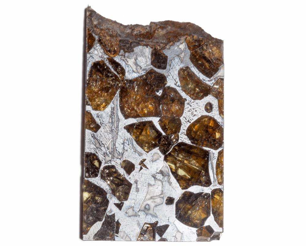 Метеорит Сеймчан (палласит) 12,11 гр с коробкой