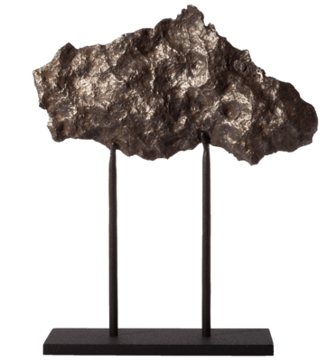 Метеорит Чинге на подставке