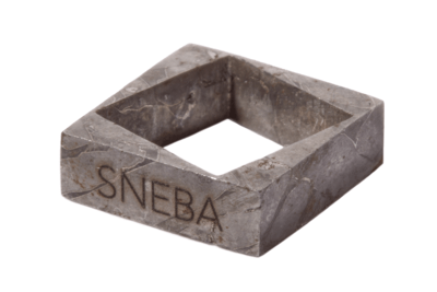 Подвеска из метеорита SNEBA TWO SQUARE