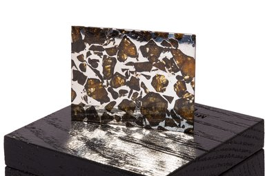Метеорит Сеймчан (палласит) 8,1 гр с коробкой