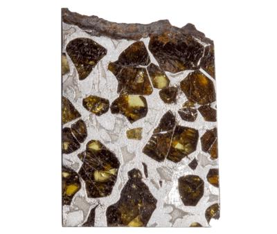 Метеорит Сеймчан (палласит) 10,56 гр с коробкой