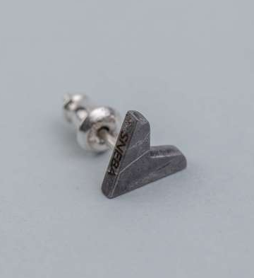Серьги из метеорита SNEBA Erring heart
