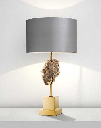 Лампа Eichholtz Divini с окаменелым деревом