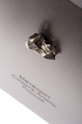 Метеорит Сихотэ-Алинь 14,63 гр с рамкой