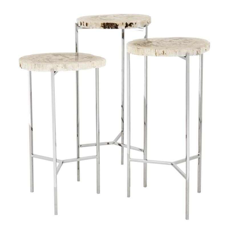 Комплект кофейных столиков Eichhotz Side Table Newson set of 3
