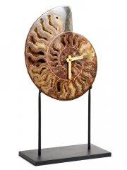 Часы из аммонита Cleoniceras sp.