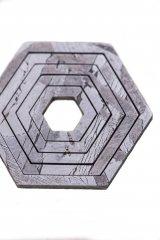 Подвеска из метеорита SNEBA Hexagon