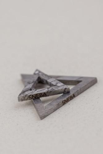 Подвеска из метеорита SNEBA Triangle
