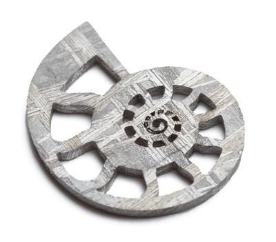Подвеска из метеорита SNEBA Ammonite